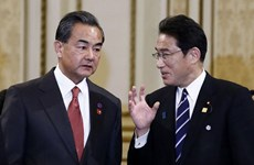Ngoại trưởng Nhật Bản tới Trung Quốc lần đầu tiên sau 5 năm