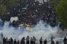 Biểu tình phản đối dự luật cải cách lao động tiếp diễn tại Pháp