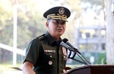 Tham mưu trưởng quân đội Philippines mắc COVID-19, Bộ trưởng cách ly