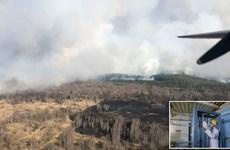 Ukraine ghi nhận mức phóng xạ cao sau cháy rừng gần nhà máy Chernobyl