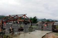Điện Biên: Cảnh báo mưa dông, mưa lớn cục bộ, mưa đá và sạt lở đất