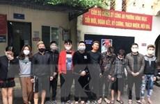 Quảng Bình: Bắt 2 nhóm đối tượng tụ tập ở khách sạn để sử dụng ma túy