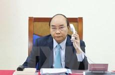 Thủ tướng Nguyễn Xuân Phúc điện đàm với Thủ tướng Thụy Điển