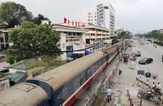 Đường sắt chạy lại đôi tàu hàng chuyển phát nhanh tuyến Hà Nội-TP. HCM