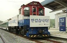 Hàn Quốc khởi công xây dựng tuyến đường sắt liên Triều phía Nam