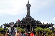Lượng khách du lịch quốc tế tới Indonesia giảm mạnh do dịch COVID-19