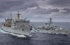 Nga theo dõi nhóm tàu hải quân Mỹ-Anh hoạt động trên biển Barents