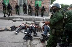 Mexico triển khai lực lượng vũ trang ngăn chặn tội phạm, bạo lực