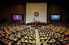 Hàn Quốc: Hai đảng đối lập hợp nhất trước nhiệm kỳ quốc hội mới