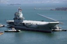 Trung Quốc thử nghiệm và huấn luyện trên biển tàu sân bay Sơn Đông