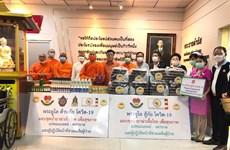 Chư tăng An Nam tông và kiều bào Thái Lan chung tay chống dịch