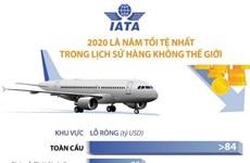 [Infographics] 2020 là năm tồi tệ nhất lịch sử hàng không thế giới