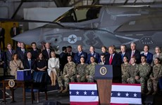 Mỹ tăng cường phòng thủ không gian trước đe dọa từ Nga, Trung Quốc
