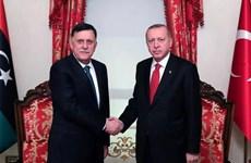 Ngoại trưởng Thổ Nhĩ Kỳ tới Libya thảo luận về hợp tác song phương