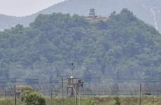 Lính Triều Tiên xuất hiện tại các đồn biên phòng trong khu phi quân sự