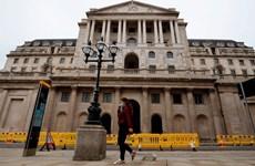 Ngân hàng Trung ương Anh sắp dừng chương trình nới lỏng tiền tệ