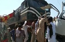 Pakistan: Tai nạn đường sắt thảm khốc khiến 19 người thiệt mạng