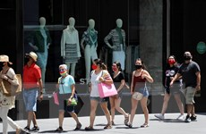 Mỹ ghi nhận số ca mắc mới cao nhất, Mexico vượt Pháp về số ca tử vong