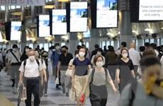 Sáng 5/7: Nhật Bản có số ca nhiễm mới cao nhất từ khi dỡ bỏ phong tỏa