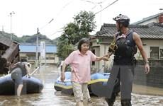 Nhật Bản đẩy mạnh hoạt động cứu hộ tại các tỉnh bị ảnh hưởng mưa lũ