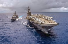 """Tên lửa của Nga, Trung Quốc có thể khiến tàu sân bay Mỹ """"hết thời"""""""