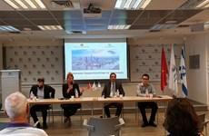Doanh nghiệp Israel quan tâm đẩy mạnh nhập khẩu các mặt hàng Việt Nam