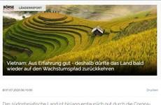 [Video] Truyền thông Đức ca ngợi Việt Nam chống dịch COVID-19