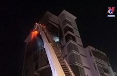 [Video] Cháy tòa nhà cao tầng trong đêm tại Đà Nẵng