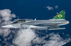Tập đoàn quốc phòng Thụy Điển sản xuất máy bay chiến đấu tại Brazil