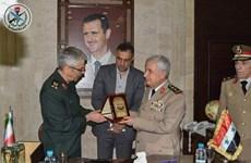 Iran và Syria ký thỏa thuận mở rộng hợp tác quân sự toàn diện