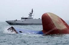 Tàu hải quân Indonesia bị chìm ngoài khơi tỉnh Đông Java