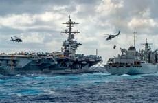 Hải quân Ấn Độ và Mỹ tập trận chung tại Ấn Độ Dương