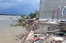An Giang: Di dời 25 hộ dân trong vùng sạt lở nguy hiểm đến nơi an toàn
