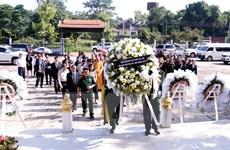 Dâng hương tưởng niệm 73 năm ngày Thương binh-Liệt sỹ tại Lào