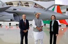 Pháp chuyển giao lô máy bay tiêm kích Rafale đầu tiên cho Ấn Độ
