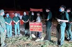 Kiểm tra công tác phòng, chống dịch trên tuyến biên giới Hà Giang