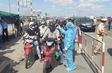 Quảng Nam lập 4 chốt kiểm tra y tế ngăn lây lan từ tâm dịch Đà Nẵng