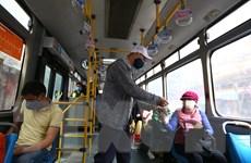 TP. Hồ Chí Minh tăng cường phòng chống dịch trong vận tải hành khách