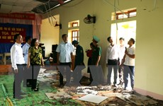 Sơn La khắc phục thiệt hại do ảnh hưởng của trận động đất