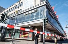 Cướp ngân hàng tại thủ đô nước Đức, nhiều người bị ngộ độc khí lạ