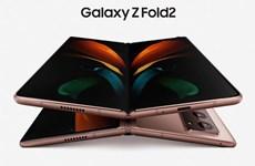 Samsung trình làng smartphone gập phiên bản mới Galaxy Z Fold 2