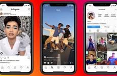 """Instagram tung ra """"quân bài"""" cạnh tranh về chia sẻ video với TikTok"""