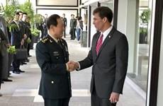 Mỹ, Trung Quốc duy trì đối thoại quốc phòng để kiểm soát khủng hoảng