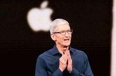 Giám đốc điều hành Apple Tim Cook lần đầu lọt vào danh sách tỷ phú