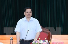 Trưởng Ban Tổ chức TW làm việc với Ban Thường vụ Đảng ủy Công an