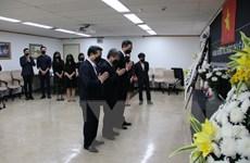 ĐSQ Việt Nam tại Hàn Quốc viếng nguyên Tổng Bí thư Lê Khả Phiêu