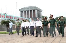 Thủ tướng đồng ý mở cửa trở lại đón khách vào Lăng viếng Bác từ 15/8