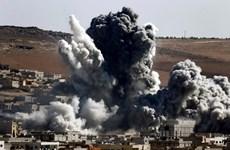 Máy bay Mỹ không kích một trạm kiểm soát quân sự của Chính phủ Syria