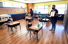 Một số trường học ở Mỹ chuyển sang giảng dạy trực tuyến hoàn toàn