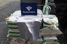 Cảnh sát Brazil triệt phá mạng lưới buôn ma túy toàn cầu
